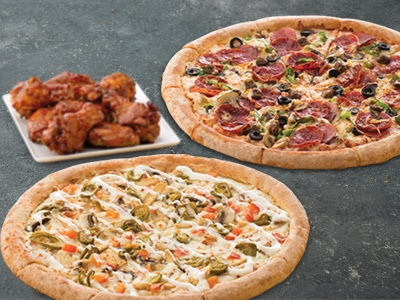 Tuesday BOGO with Poppers/Wings/Strips/Cheesesticks