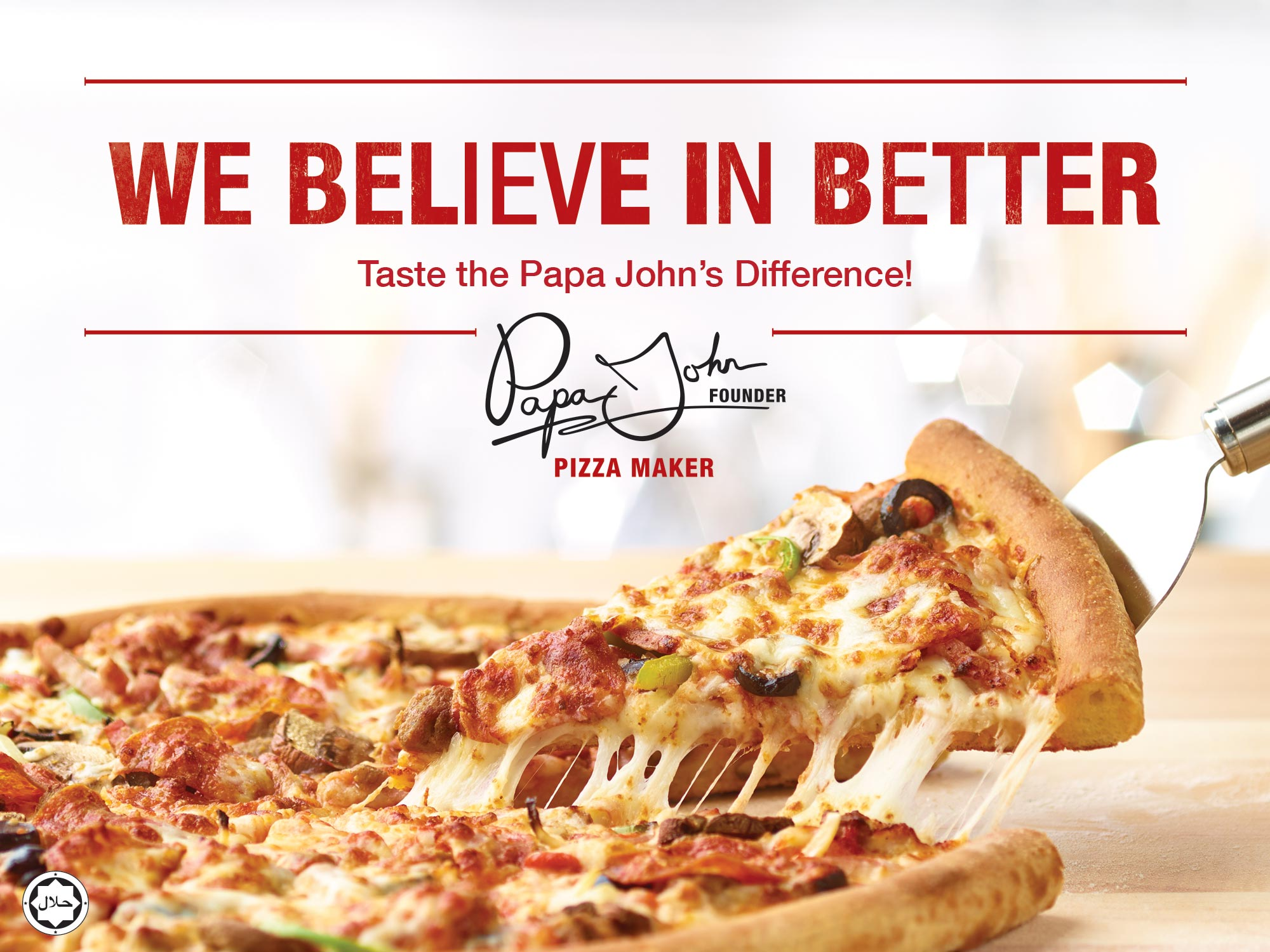 Papa John's Pizza - Kingdom of Bahrain